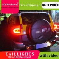 2PCS Car Styling for Toyota Fj CRUISER Taillights 2007 2014 for Fj CRUISER LED Tail Lamp+Turn Signal+Brake+Reverse LED light