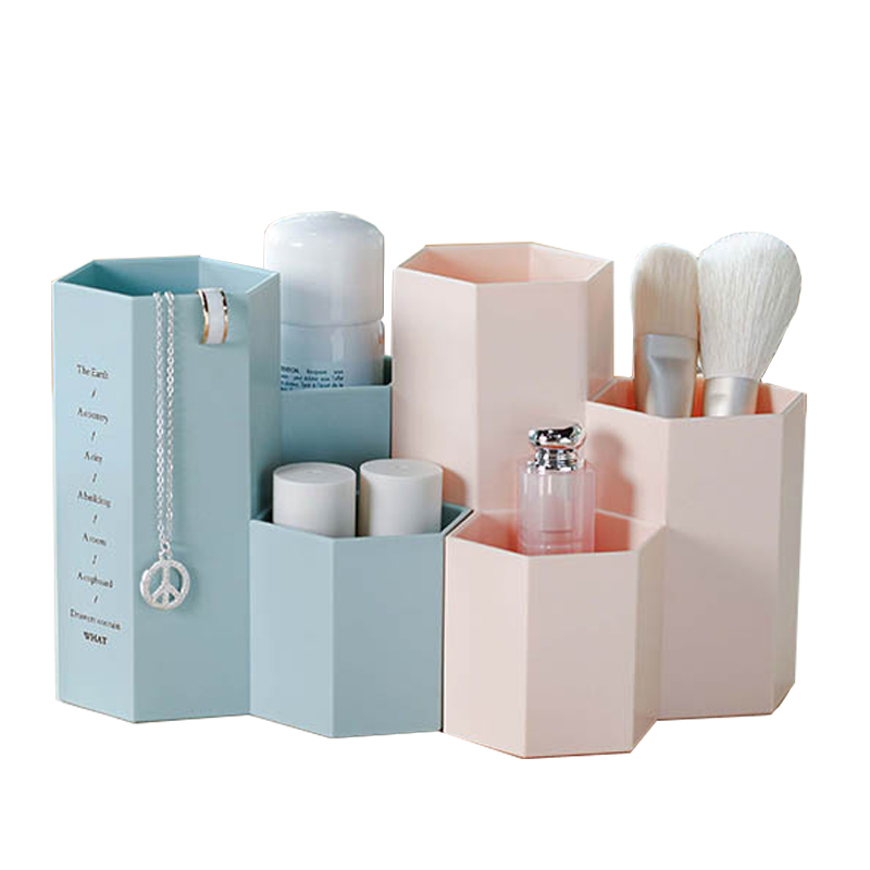 Cosmetics Makeup Brushes Plastic Storage