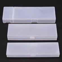 Прозрачное матовое пенал для карандашей пластиковый ящик для хранения студенческий Обучающий набор канцелярских принадлежностей