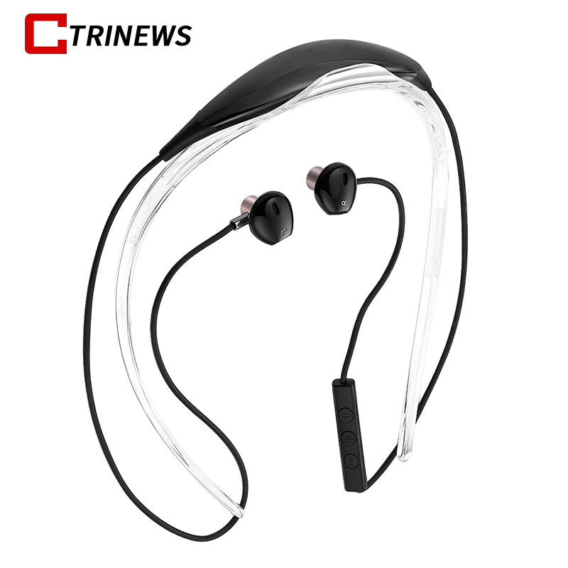 Bluetooth Headphones Wireless Earphones Magnetic Sweatproof Sports Running Earphone with Mic Earbuds Headset For iPhone Samsung magnetic switch earphones sports running wireless earbuds bass bluetooth headsets in ear with mic for running fitness exercise