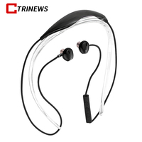 CTRINEWS Bluetooth Earphones Metal Magnetic Sport Running Wireless Headphones Stereo Headsets Bass Earbuds With Mic For