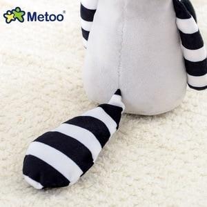 Image 5 - Metoo juguetes de peluche de dibujos animados para niños, muñecos de peluche de 35cm, de zorro, mapache, koala