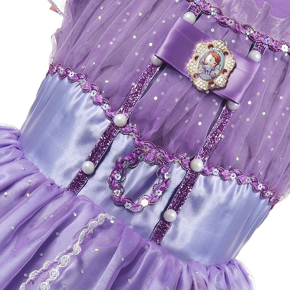 Girls Summer Princess Cosplay Costume (8)