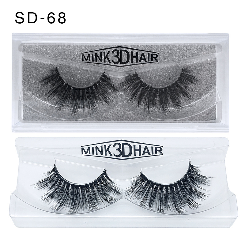 Image 5 - 50 Pairs 3d Mink Lashes Wholesale Handmade natural False Eyelashes 3D Mink Eyelashes Dramatic Lashes 17styles makeup Eye Lashes-in False Eyelashes from Beauty & Health