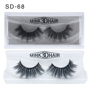 Image 5 - 50 Pairs 3d Mink Wimpers Groothandel Handgemaakte natuurlijke Valse Wimpers 3D Mink Wimpers Dramatische Wimpers 17styles make Wimpers
