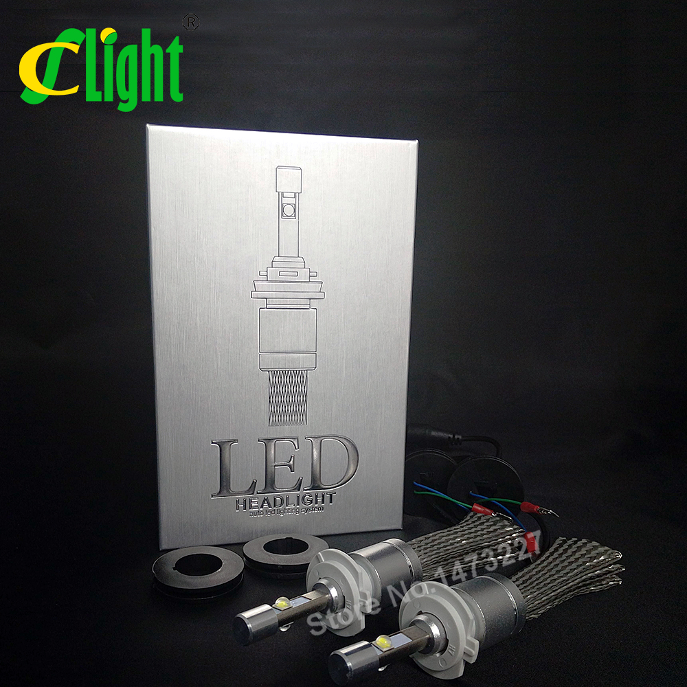 CNSUNNYLIGHT Super Bright 9600lm H7 Xenon 6000K Car LED Headlight Conversion Lamp Kit Auto DRL Fog