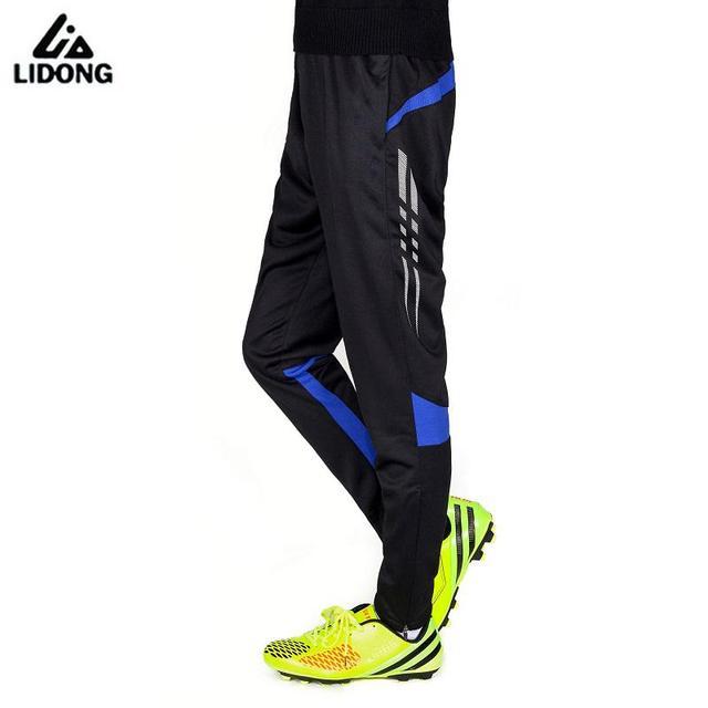 2018 Hombres Calientes del entrenamiento de fútbol corriendo pantalones  Skinny Leggings pantalones de Jogging hombres fútbol df2415b376b3