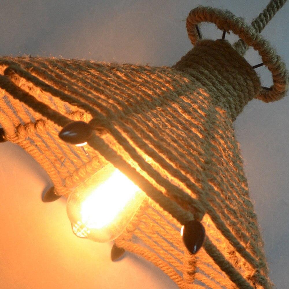 American Village loft pendant lamp retro hemp rope pendant lights creative loft pendant lamp american village loft pendant lamp retro hemp rope pendant lights creative loft pendant lamp