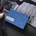 Magnetic lock Card Holder Metal Bussiness Namecard Case ID Card Bank Card Holder Box Organizer Wallet