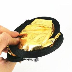 Image 5 - 30 см 2 в 1 золотой и серебряный складной светлый круглый полый отражатель для фотосъемки для студии фото камера