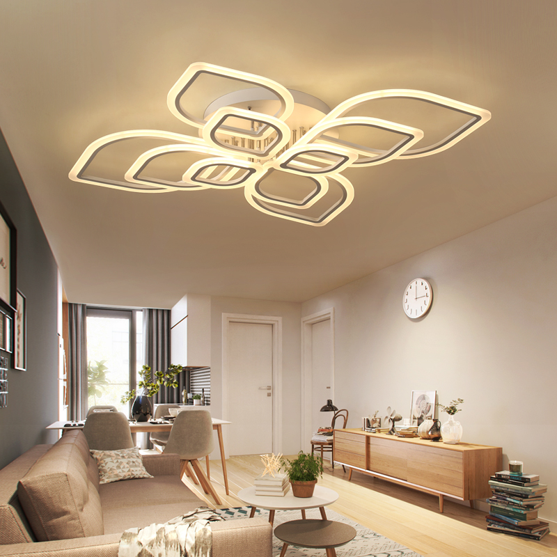 New modern led ceiling lights for living room bedroom Indoor Lighting Home Decorative lamparas de techo ceiling lamp fixtures iwhd led vintage ceiling lights for living room lamp home lighting fixtures lamparas de techo