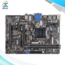 MSI H81M-E35 V2 Оригинальный Б H81 Настольных Материнских Плат Socket LGA 1150 DDR3 i3 i5 i7 16 Г SATA3 USB3.0 Micro-ATX