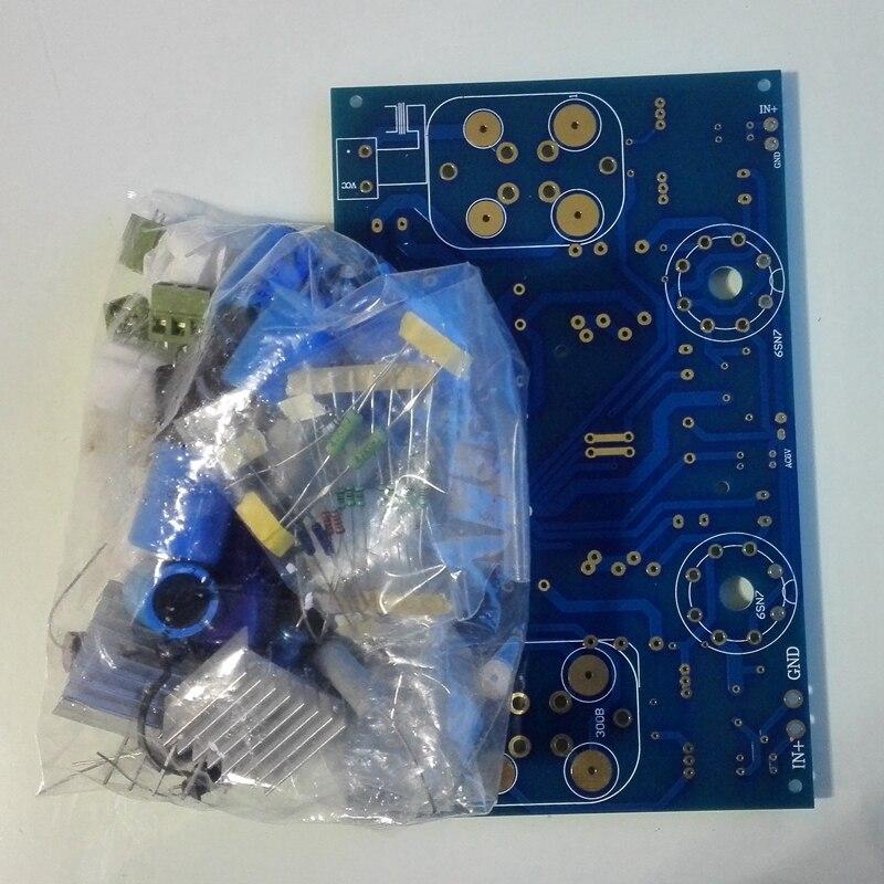 300B Tube Amplificateur Kits PCB Non Compris Tubes Sans Soudure 6SN7 Préampli 5U4G Redresseur HIFI Audio BRICOLAGE