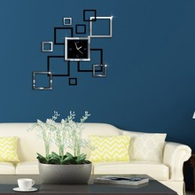 Abstract Wall Clock Quartz Clock Fashion Watch 3d Real Wall Clock Mirror Sticker Diy Living Room Decoration Modern Wall Clock цена в Москве и Питере