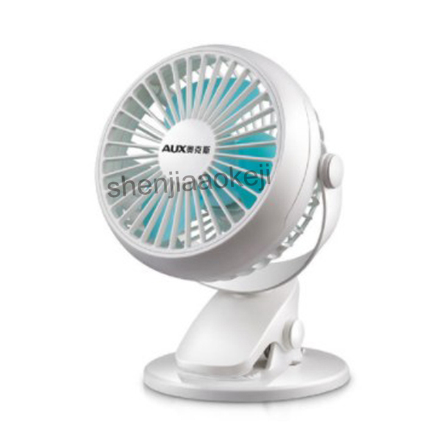 Mini Desktop Electric Fan for Household Office  clip fan use and USB port Table fan wall Mute Fans 1pc