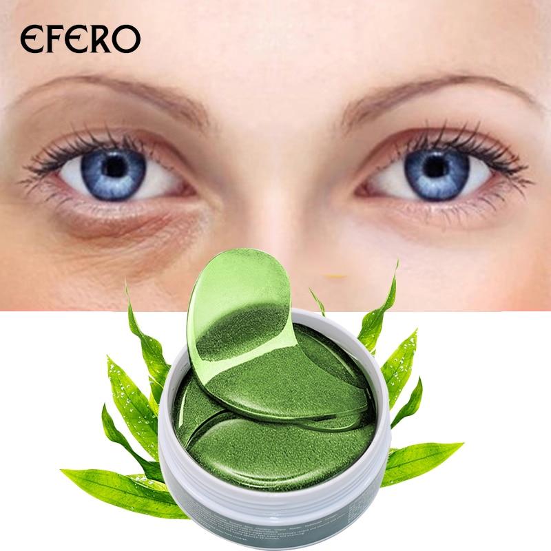 1Box/60Pcs Crystal Collagen Eye Mask Eye Patches For Eye Care Dark Circles Remove Anti-Aging Wrinkle Skin Care Effect EFERO
