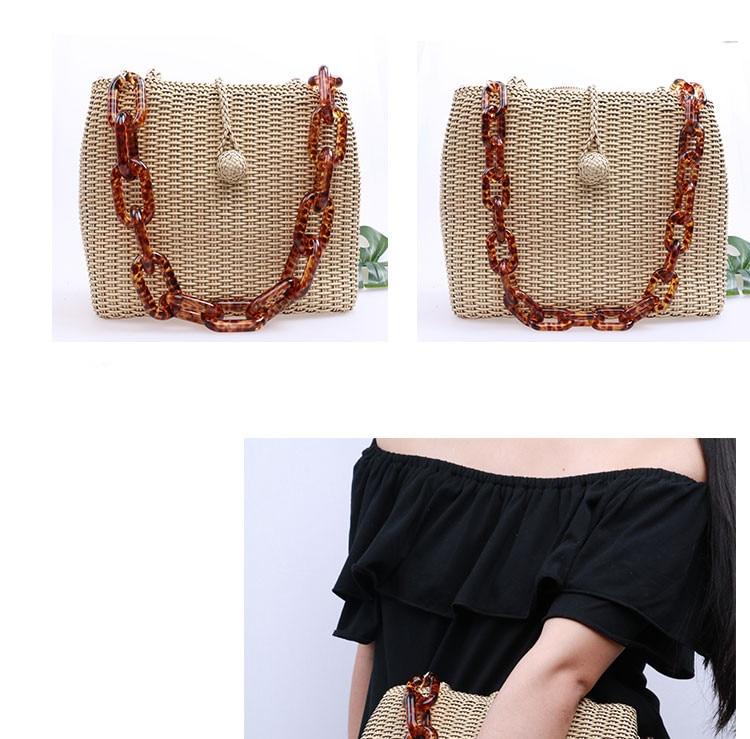 2017 Resin Bag Handle Chains Diy Handbag Accessories For Purse Shoulder Strap Surperme Fecho Para Bolsa Plastic Bags In Parts