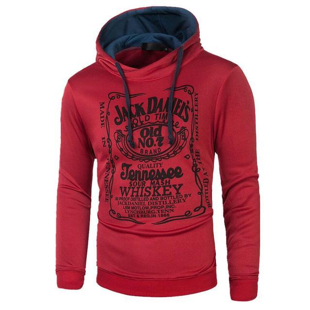 Red wine hoodie