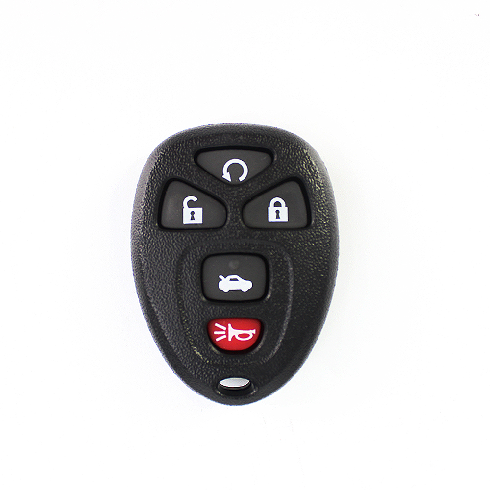 Fob-Cover Shell Car-Key-Shell-Case Replacement Buick Chevrolet 5-Buttons Cadillac