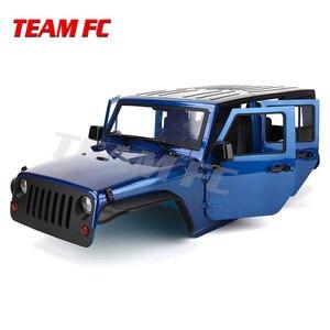 Image 4 - В наличии набор 313 мм 12,3 дюйма колесная база корпус корпуса автомобиля Корпус Корпуса для 1/10 RC Гусеничный автомобиль SCX10 SCX10 II TRX4 90046 90047 Jeep Wrangler