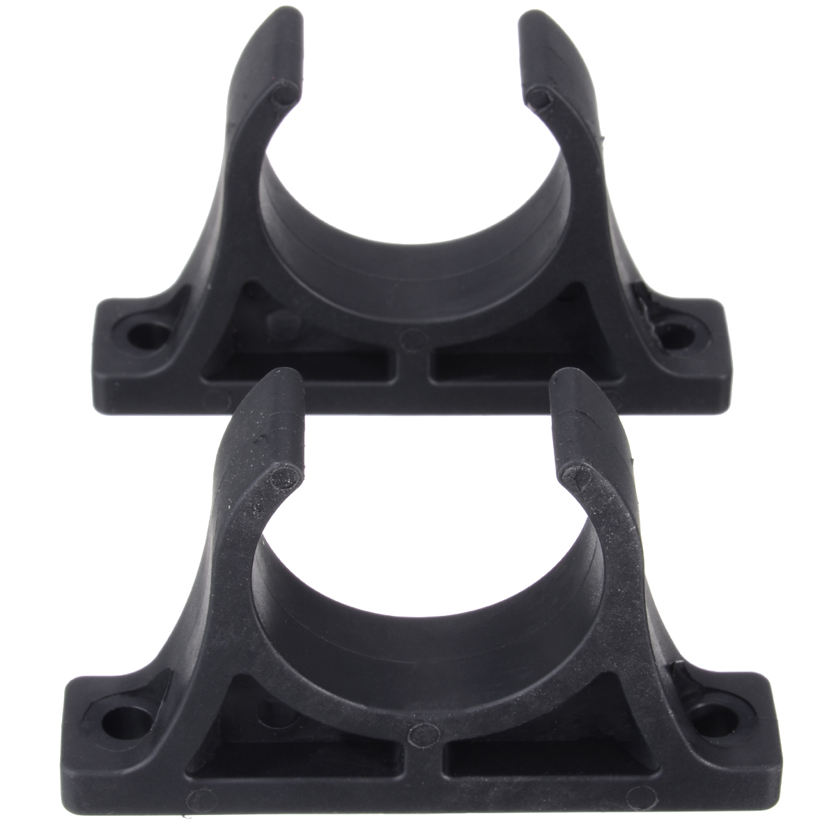 2pcs Plastic Kayak Boat Paddle Holder Mount Clips Watercraft Accessories For Kayaks Canoes And Rowing Boats