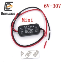 Eonstime Mini GS-100A Flash Strobe Controller Flasher Module for Car LED Brake Stop Light Lamp 12V-24V