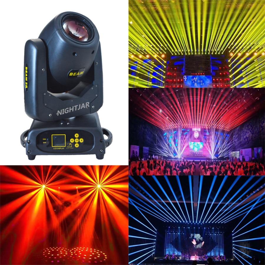 Rainbow efeito 1R 132 w movendo feixe de luz cabeça 8 + 16 + 24 prisma para dj stage iluminação casamento disco ktv