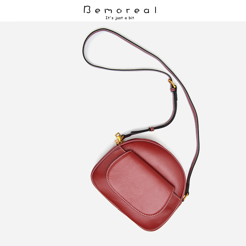 Bemoreal designer bags famous brand women bags Genuine Leather Shell small Messenger Bags Casual Zipper luxury