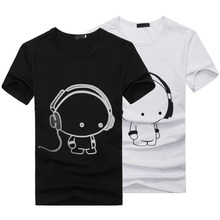 FUNOC 2016 Summer Mens Casual Short Sleeve 3D Anime Funny T-Shirts Fashion Street Hip Hop Tee Tops tshirt Plus size