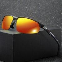 Aro de Alumínio Dos Homens Do Esporte óculos de Sol Ao Ar Livre Óculos de Pesca Óculos de Condução Óculos de Sol Por Atacado para o Homem Mulheres