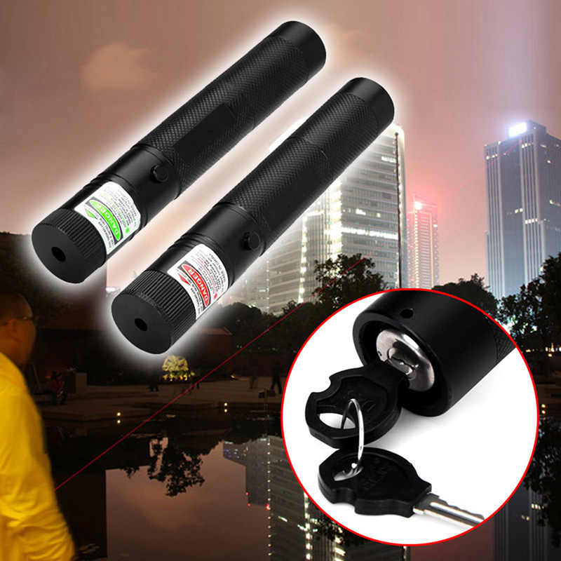 Wholesale Pocket 301 Green Red Laser Pointer Pen Outdoor Sports Camping Hiking Self Defense Survival Tactical Lazer Tools