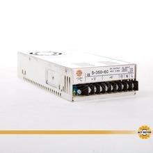 CNC Router Single Output Power Supply 350W 60V S-350-60 Milling Cut Laser Engraver Printer Kit