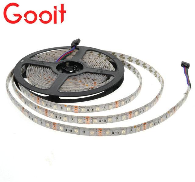 LED Strip 5050 LED lights 12V Flexible Home Decoration Lighting 1/2/3/4/5M LED Tape RGB/White/Warm White/Blue/Green/Red