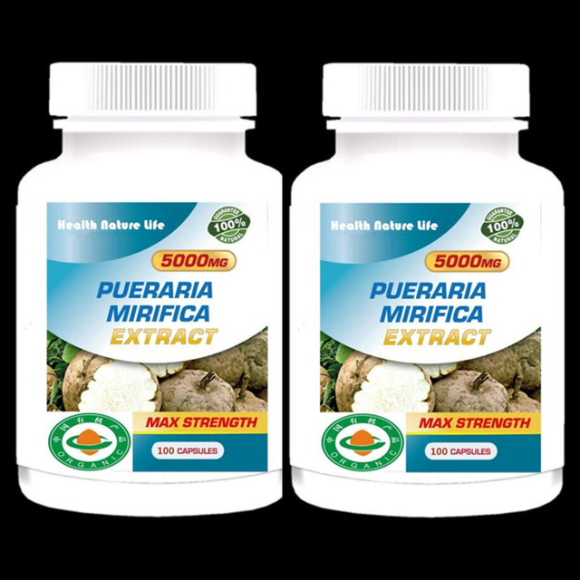Bigger Breast & Buttocks And Hips Enlargement – Organic Pueraria Mirifica Extract – For Man And woman