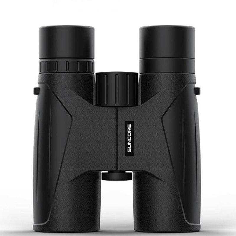 Jumelles 10X42 haute puissance télescope BAK4 HD professionnel Long Zoom oculaire étanche toute la Vision pour la chasse Spyglass