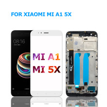 "For Xiaomi Mi A1 5X LCD Display + Touch Screen Digitizer Assembly with Frame for Xiaomi Mi A1 5X MiA1 5.5"" Screen(China)"