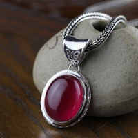 Jimei Silver Jade Orchid Beautiful Women S New Listing S925 Plated Pendant Jewelry Bag Mail Silver
