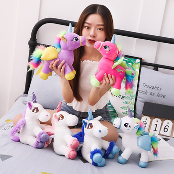 30cm Cute Rainbow Unicorn Plush Toys