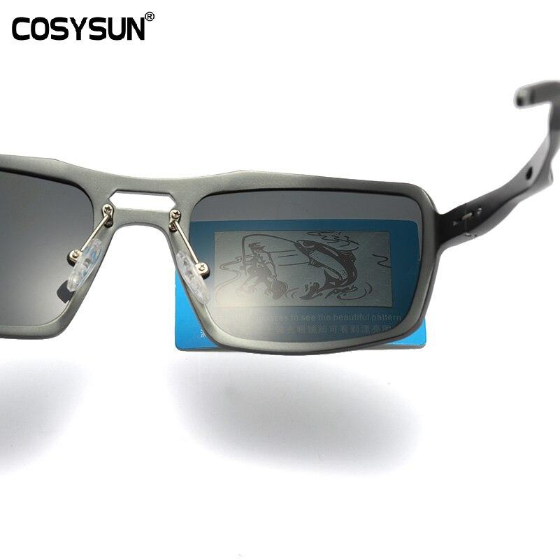 COSYSUN Brand Polarized Sunglasses Men Driving Sun Glasses Polaroid Brand Designer Men Sunglasses Gafas de sol masculino 9612