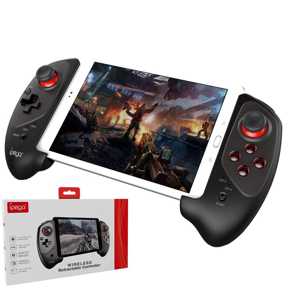 цена на IPEGA PG-9083 Pad Gamepad Bluetooth Wireless Telescopic Gamepad Controller For Android Pad Joystick Nintend Switch Smart Phone