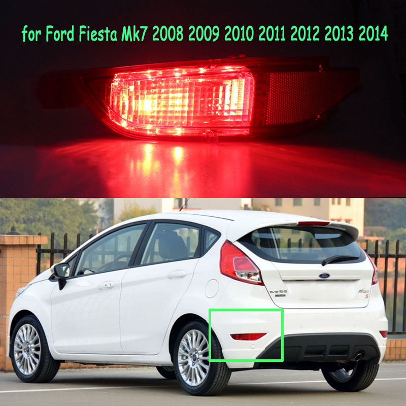 2013 2014 2015 2016 2017 2018 2019 FORD FIESTA FOG LIGHT COVERS LEFT AND RIGHT
