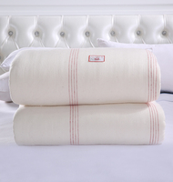 150*200 Thick Comforter Gauze Quilt Core Fresh Long staple Cotton edredon Single edredom futon coton blanket duvet funda nordica
