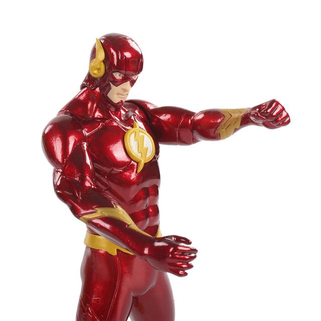 DC The New Justice League Superhero Barry Allen The Flash Action Figure 18CM