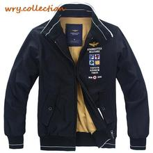 AERONAUTICA MILITARE jacket,winter clothing, Black coat,men's Jacket with AM eagle Free Shipping
