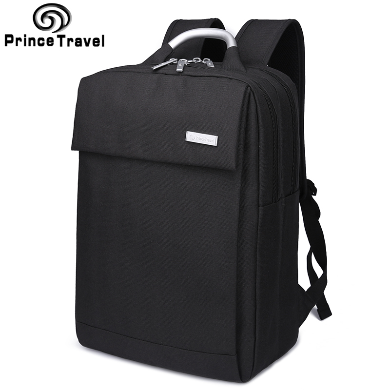 ФОТО Prince Travel Brand Backpacks For Business Capacity Men'S Travel Bag Backpack For 14 15 Inch Laptop Bag Backpack For School Bag
