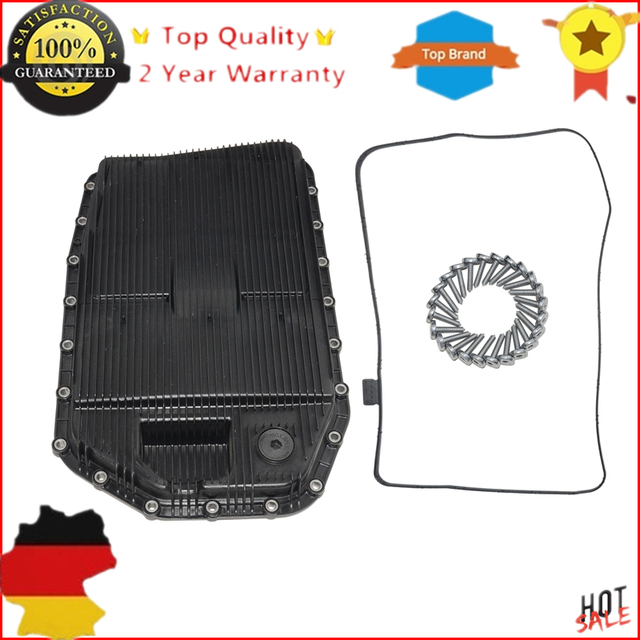 US $30 0 |New 24117571217, 24 11 7 571 217 Fit For BMW AUTO TRANSMISSION  SUMP Oil PAN+ GASKET SEAL +Screws/Bolts on Aliexpress com | Alibaba Group