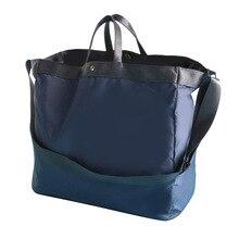 Nowa nylonowa wodoodporna torba podróżna kobiety przenośne torebki organizator podróży worek marynarski o dużej pojemności torby weekendowe na ramię