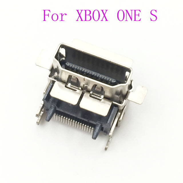 5PCS  Replacement For Microsoft XBOX One S Console HDMI Port Socket Jack Plug Connector