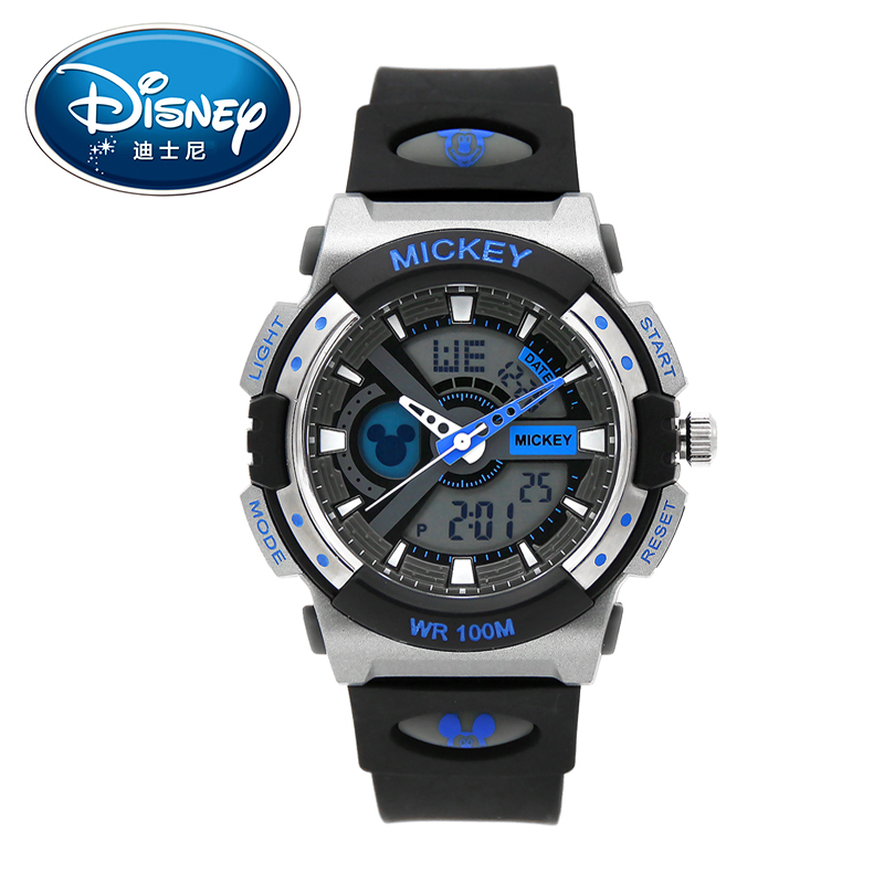 Disney Kids Watches Sports Fashion Cool Digital Wristwatches Brand Complete Calendar Boys watch for children waterproof Clock fashion brand children quartz watch waterproof jelly kids watches for boys girls students cute wrist watches 2017 new clock kids