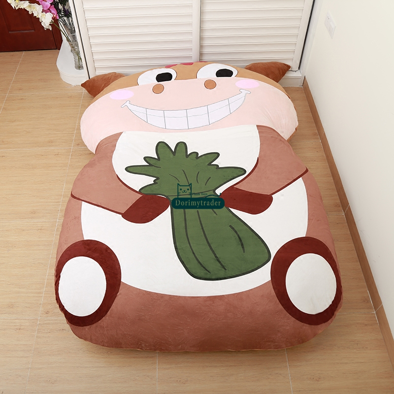 dorimytrader animal cartoon horse beanbag stuffed soft giant bed carpet mat tatami sleeping bag. Black Bedroom Furniture Sets. Home Design Ideas